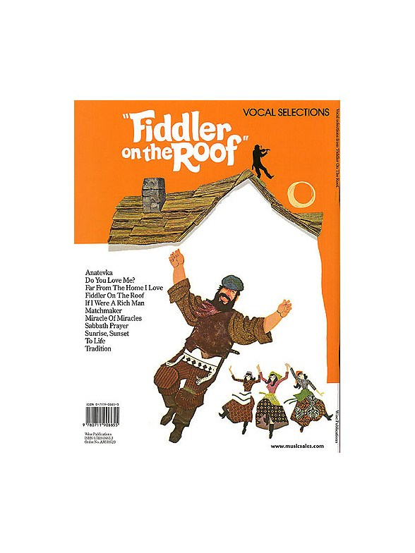 ... Jerry Bock: Fiddler On The Roof   Vocal Selections ...