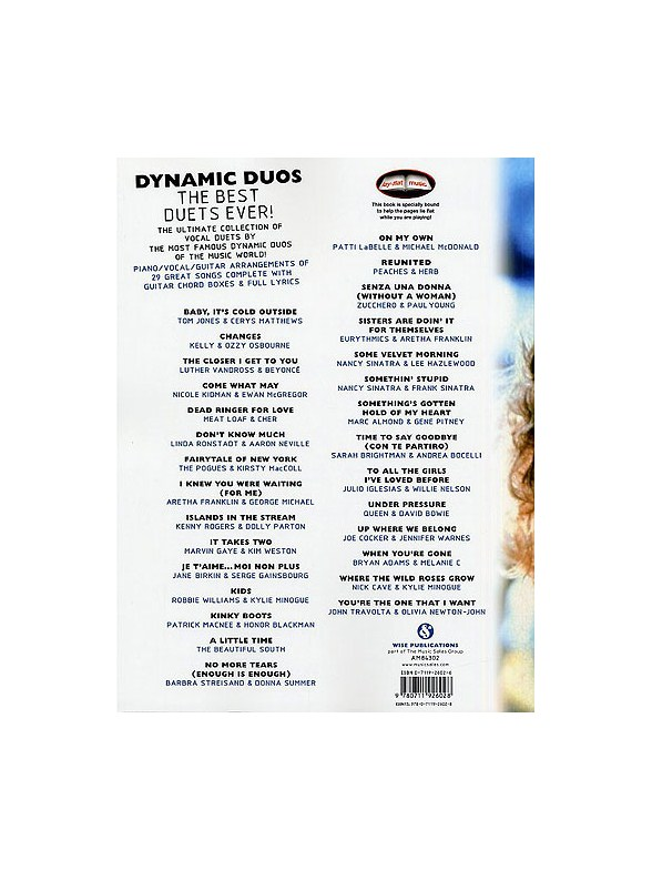 Dynamic Duos: The Best Duets Ever! - Piano & Guitar Sheet Music ...