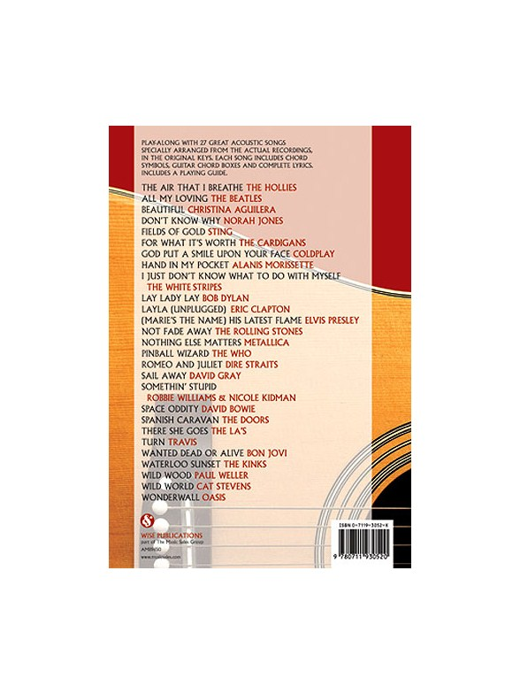 Acoustic Guitar Greatest Hits Play Along Chord Songbook Lyrics