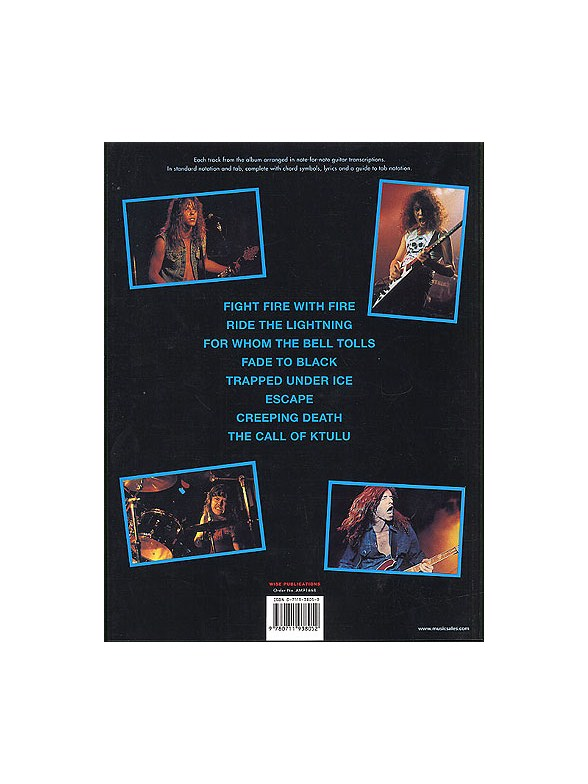 Metallica: Ride The Lightning Guitar (Tab Edition) - Guitar Tab ...