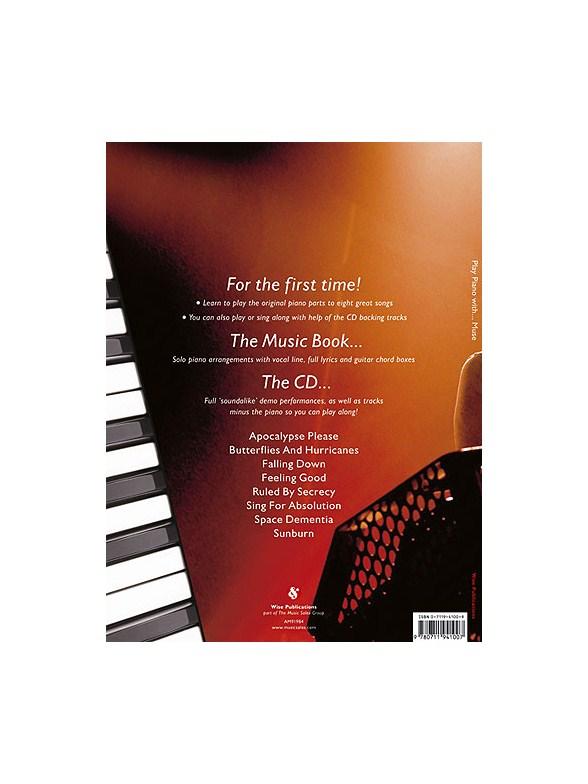 Play Piano With... Muse - Piano, Vocal & Guitar Sheet Music - Sheet ...