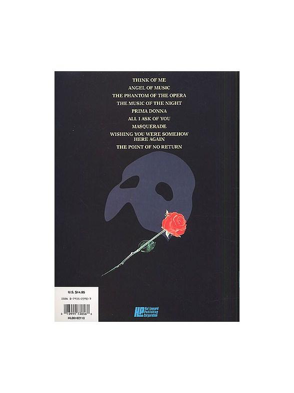 E-Z Play Today 251: The Phantom Of The Opera - Melody Line, Lyrics ...