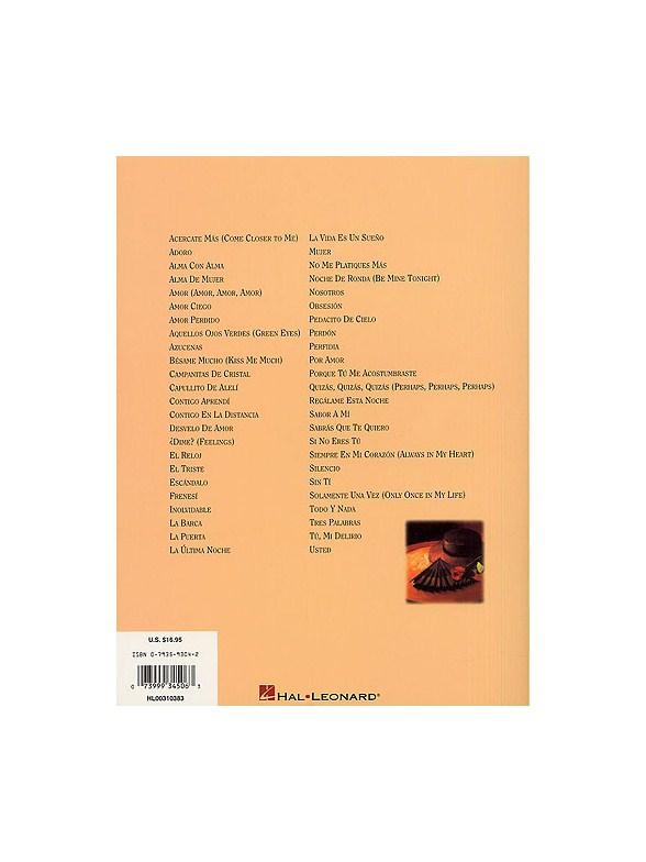 Romance: Boleros Favoritos - Piano, Vocal & Guitar Sheet Music ...