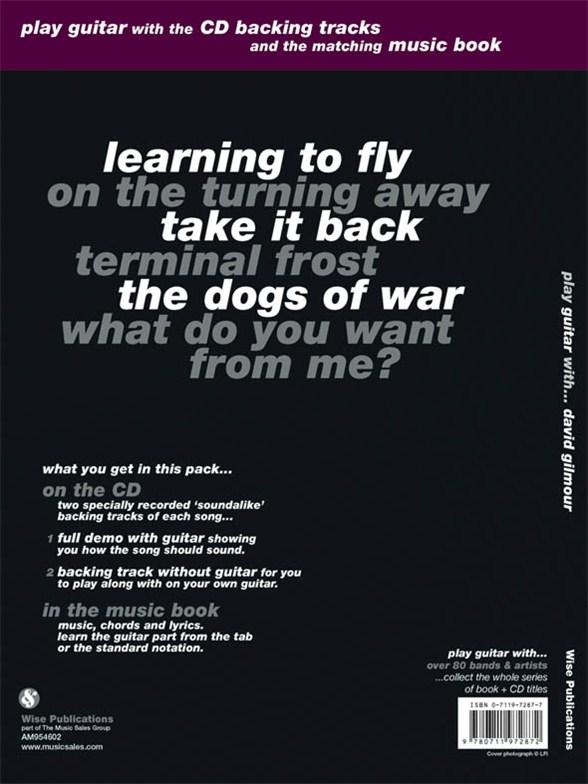Play Guitar With... David Gilmour - Guitar Tab Sheet Music - Sheet ...