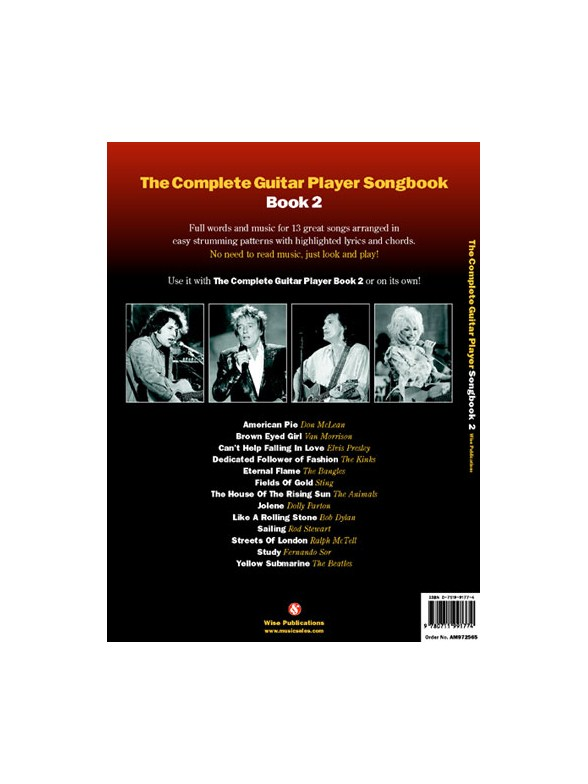The Complete Guitar Player Songbook Book 60 New Revised Edition Simple Strumming Pattern For House Of Gold