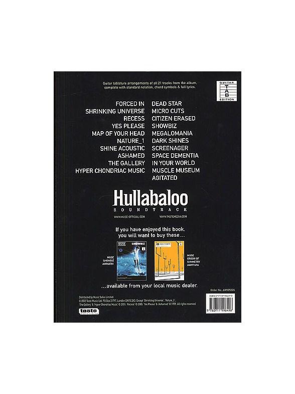 Muse: Hullabaloo - Guitar Tab Sheet Music - Sheet Music ...