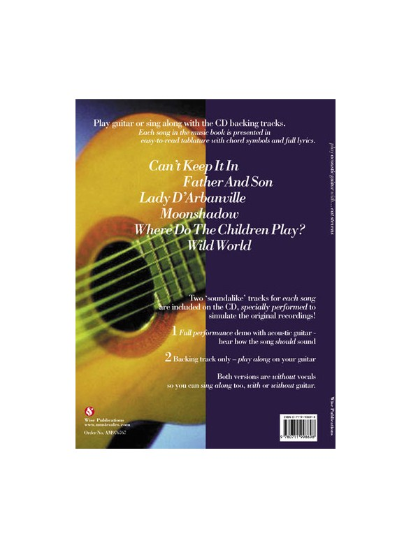 Play Acoustic Guitar With Cat Stevens Guitar Tab Sheet Music