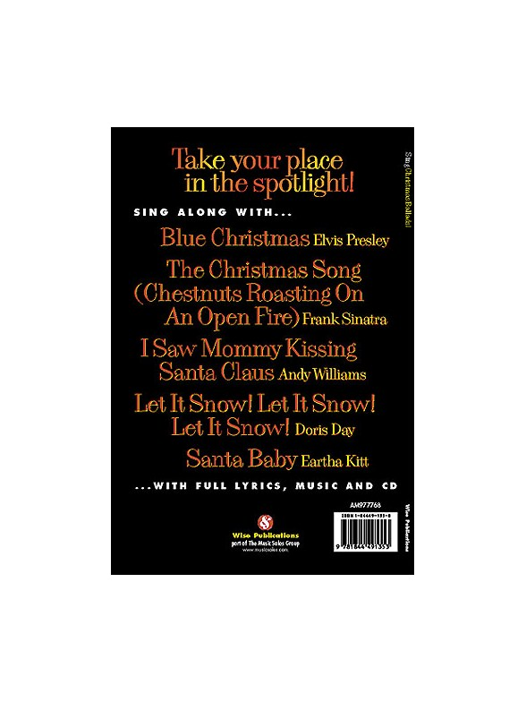 Sing Christmas Ballads! - Melody Line, Lyrics & Chords Sheet Music ...