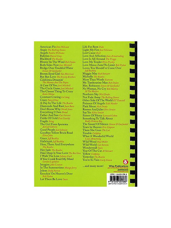 101 Acoustic Hits For Buskers Melody Line Lyrics Chords Sheet