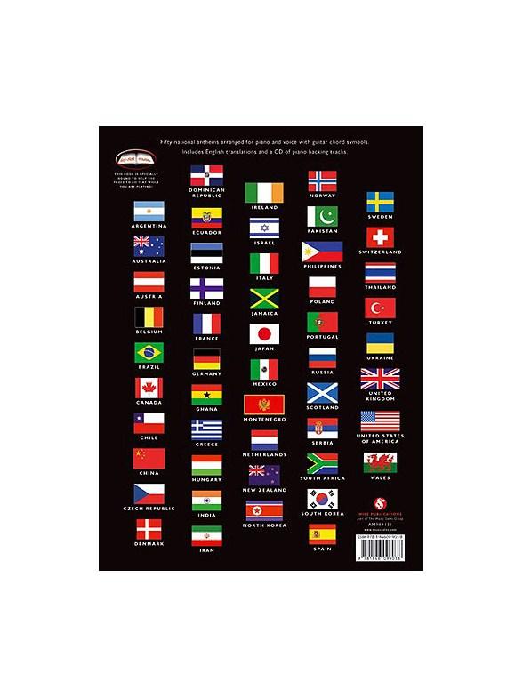 50 National Anthems - Piano, Vocal & Guitar Sheet Music - Sheet ...