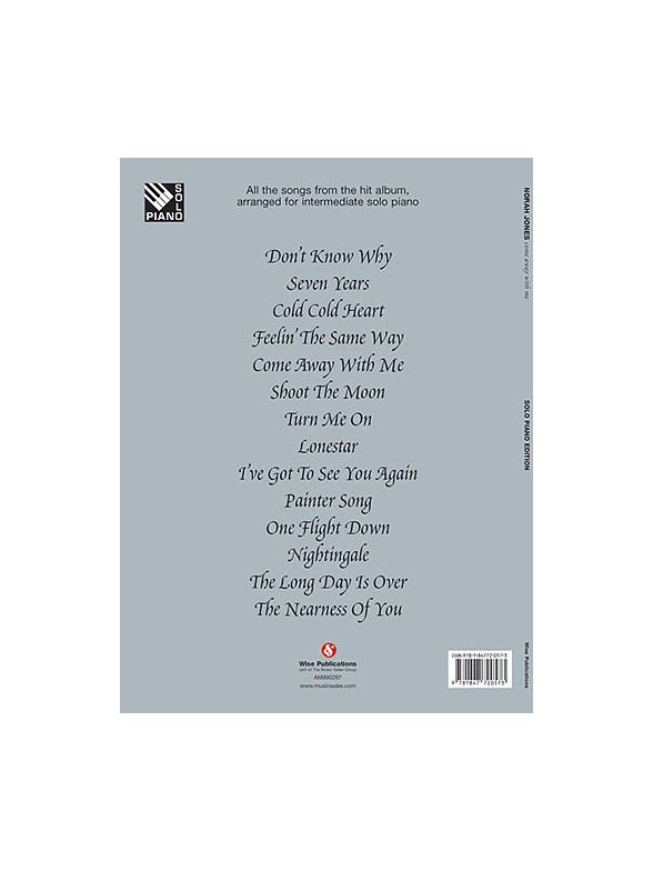 Norah Jones: Come Away With Me (Piano) - Piano Sheet Music - Sheet ...