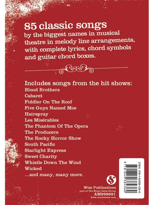 The Gig Book: Showtunes - Melody Line, Lyrics & Chords Sheet Music ...