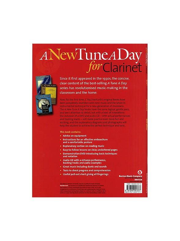 A New Tune A Day Clarinet Book 1 Dvd Edition border=