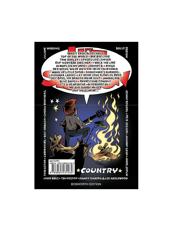 Hit Session: Country - Melody Line, Lyrics & Chords Sheet Music ...