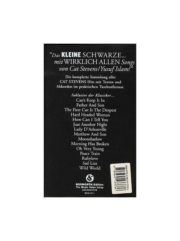 Das Kleine Schwarze Cat Stevens Yusuf Islam Lyrics Chords