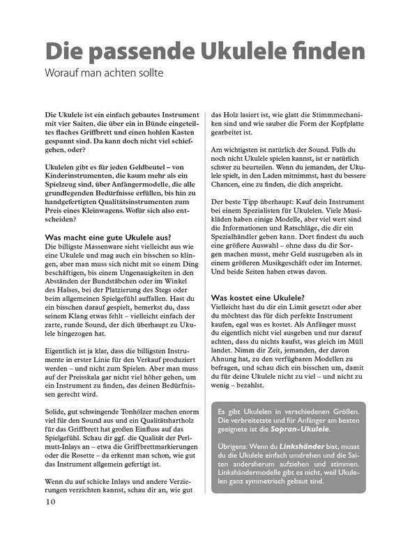 Ukulele Spielen Von A Z German Language Edition Bookcd