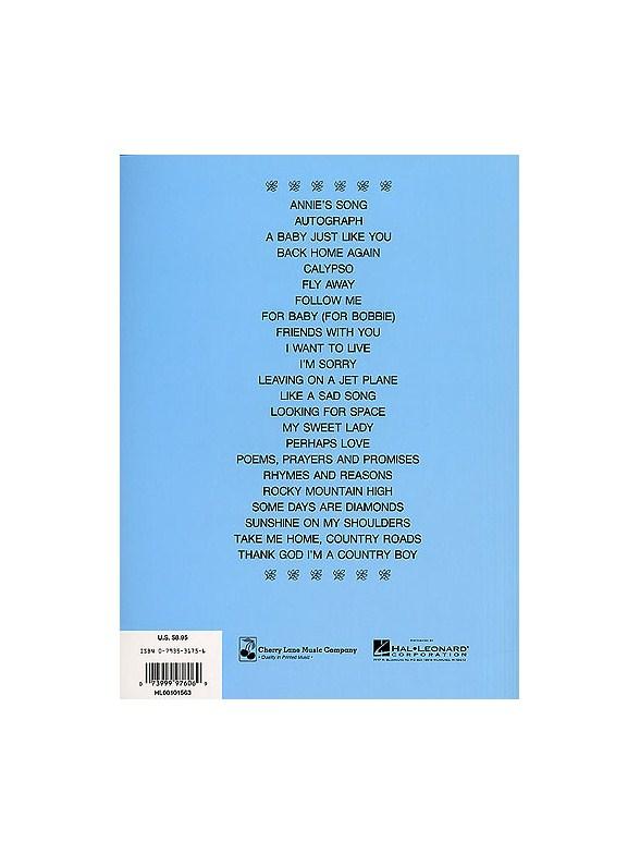E-Z Play Today 127: John Denver\'s Greatest Hits - Melody Line ...