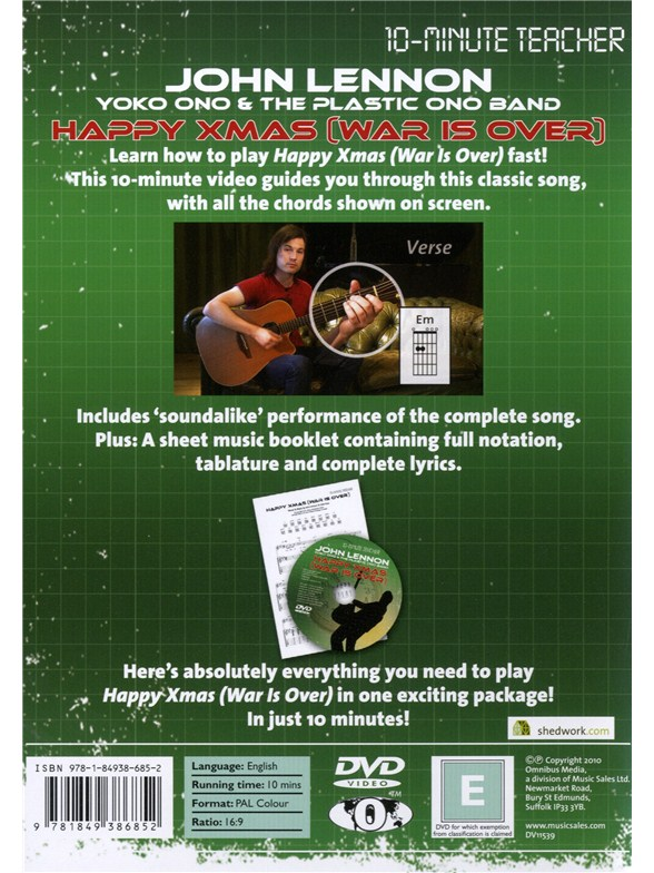 10-Minute Teacher: John Lennon/Yoko Ono - Happy Xmas (War Is Over ...