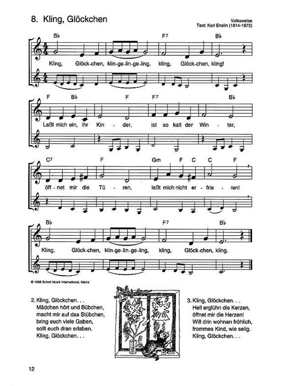 Die Schönsten Weihnachtslieder Klarinette Noten Noten