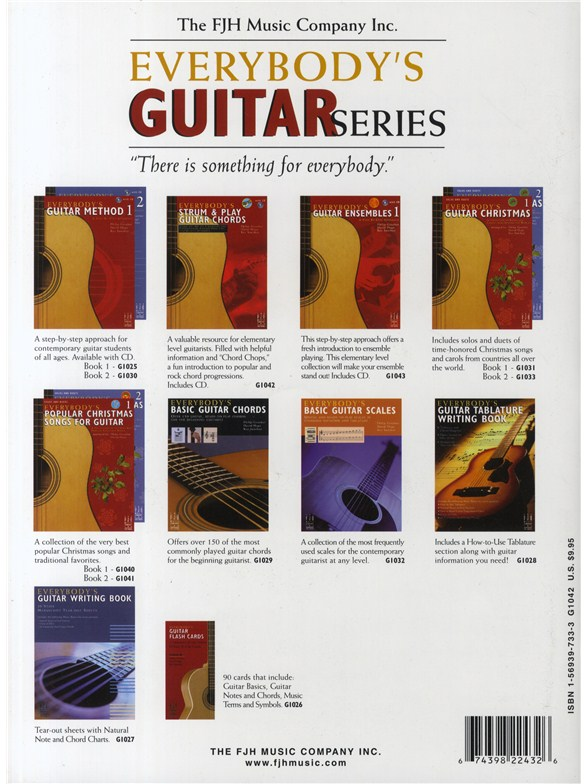 Everybodys Strum And Play Guitar Chords Book And Cd Guitar