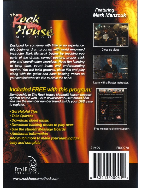 Learn the drums dvd