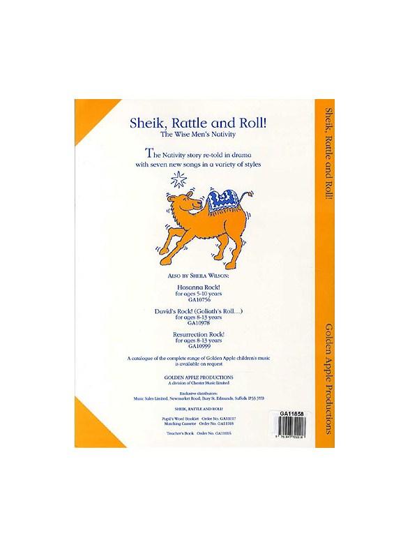 Sheila Wilson Sheik Rattle And Roll Teachers Book And Cd