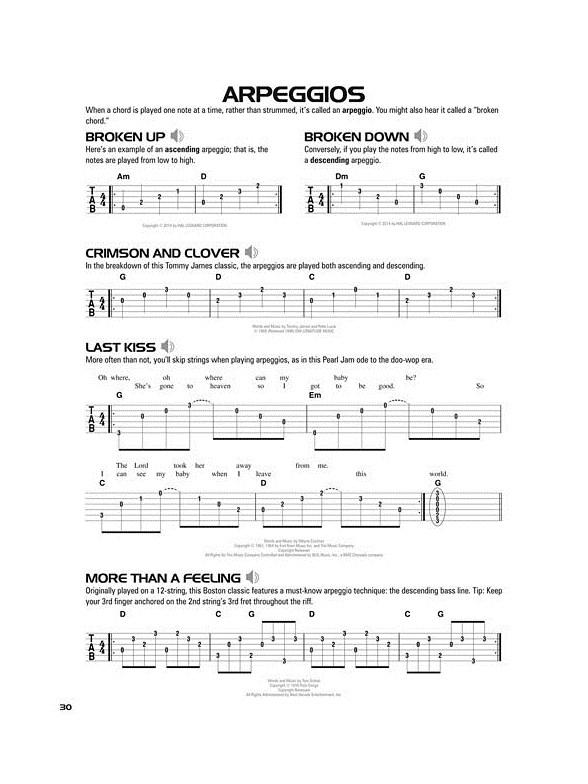 Hal Leonard Acoustic Guitar Tab Method Book 1 Bookonline Audio