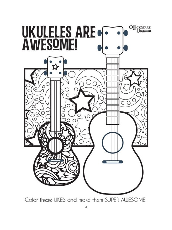 kid u0026 39 s uke  ukulele activity fun book