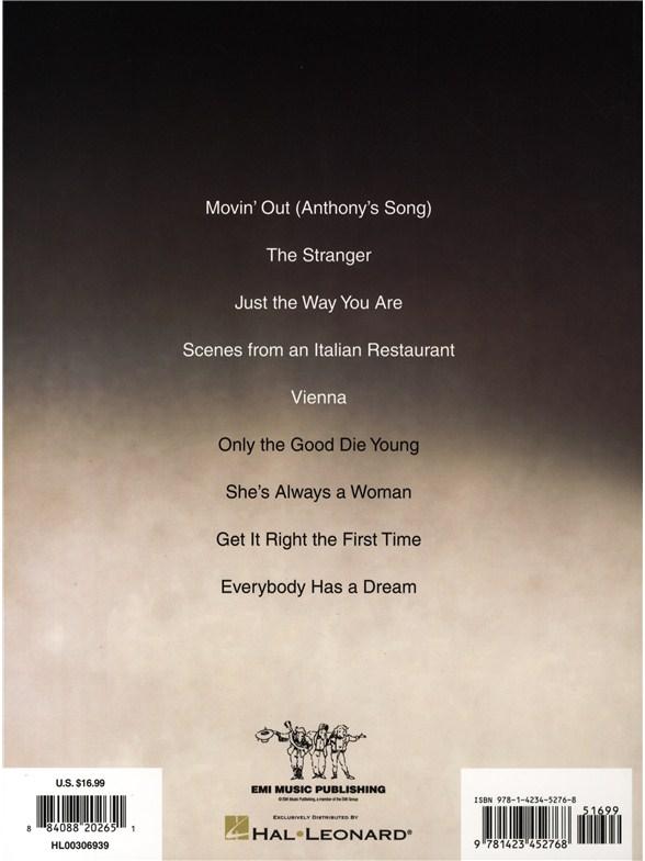 Billy Joel: The Stranger - Piano, Vocal & Guitar Sheet Music - Sheet ...