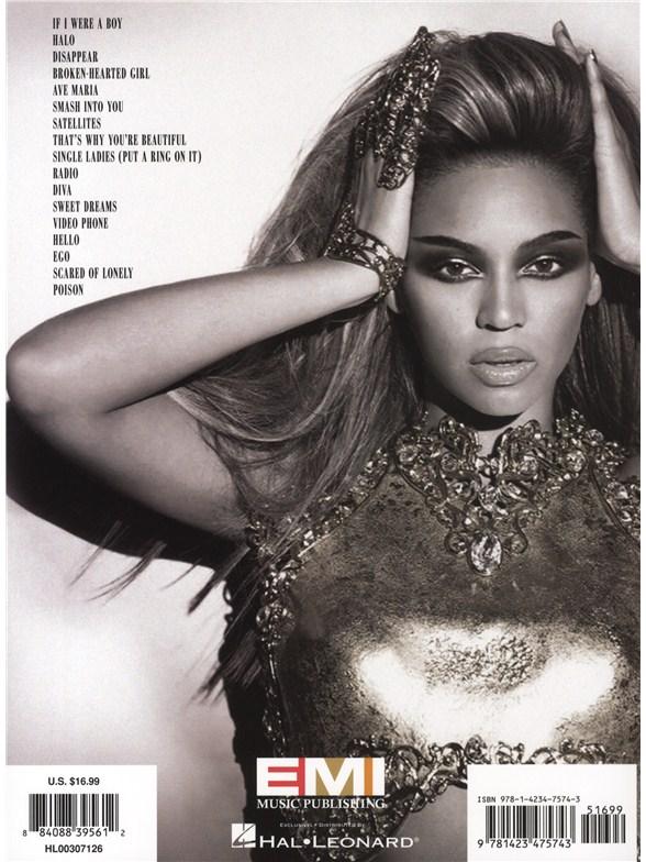 Beyonce I Am Sasha Fierce Piano Vocal Amp Guitar