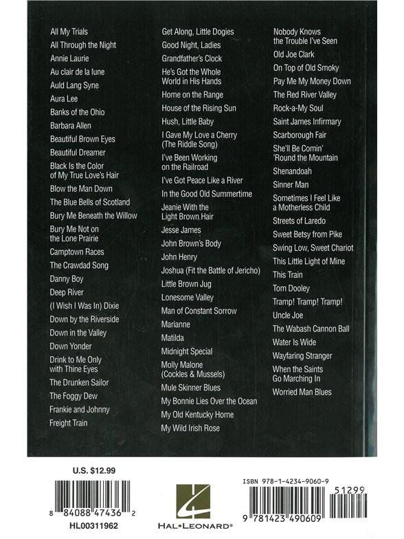 Piano Chord Songbook Folksongs Lyrics Piano Chords Sheet Music