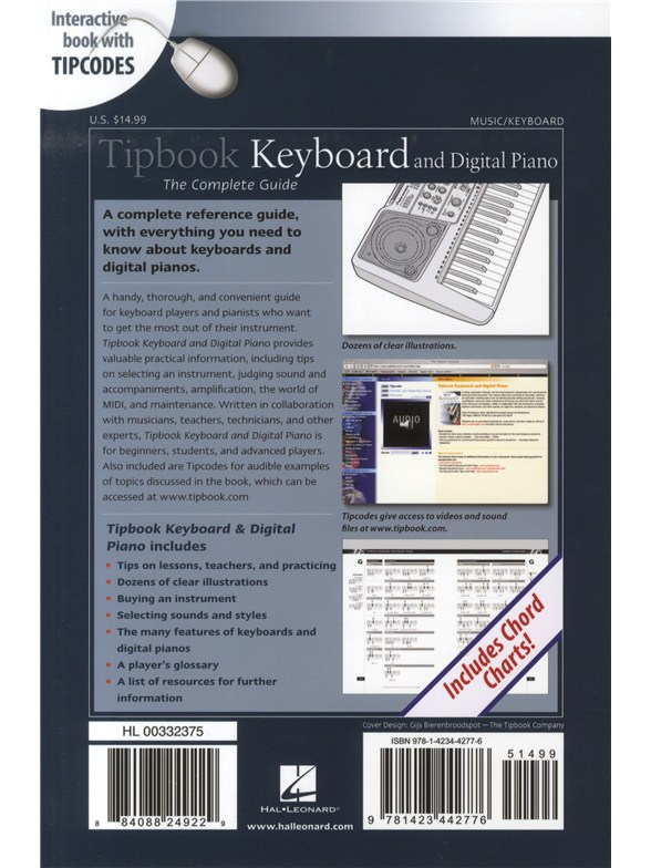 Tipbook Keyboard And Digital Piano The Complete Guide Digital