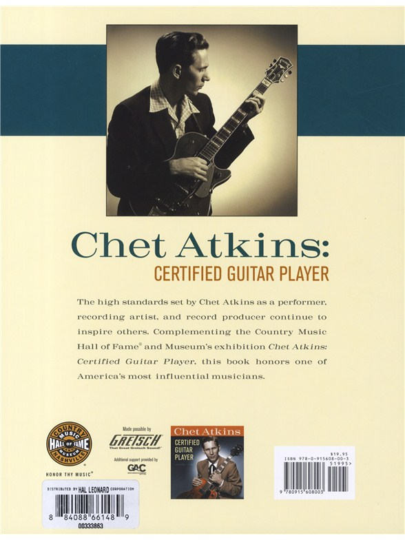 Chet Atkins - Certified Guitar Player - As Seen On PBS