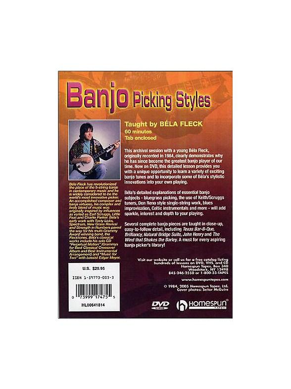 Bela Fleck: Banjo Picking Styles