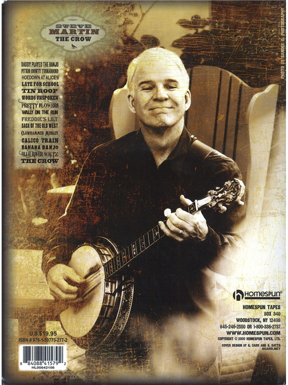 Steve martin the crow new songs for the five string banjo banjo steve martin the crow new songs for the five string banjo mightylinksfo