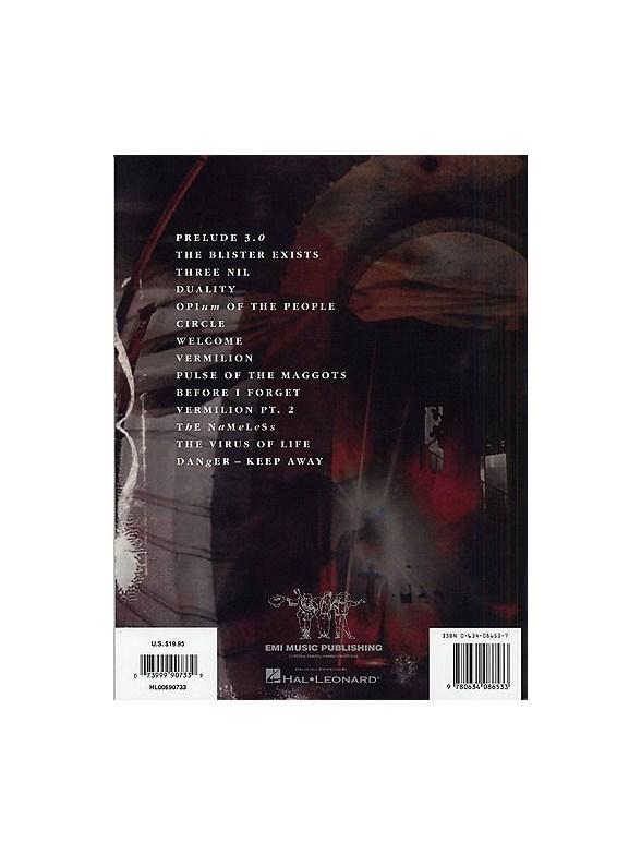 Slipknot: Volume 3 - The Subliminal Verses - Guitar Tab Sheet Music ...