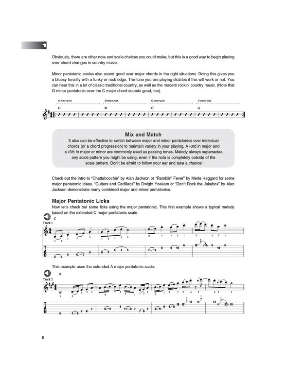 Al Bonhomme: Country Guitar (Book/Online Audio) - Guitar Books ...