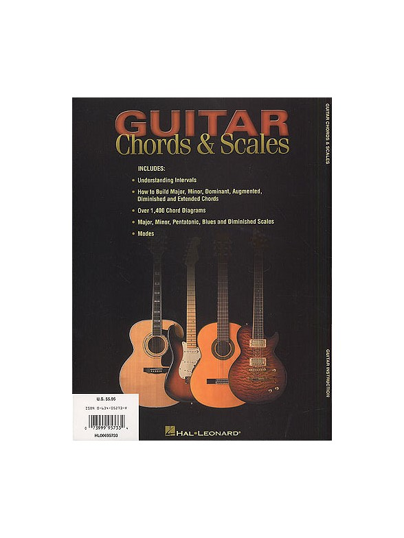 Guitar Chords And Scales - Guitar Books - Tuition | musicroom.com