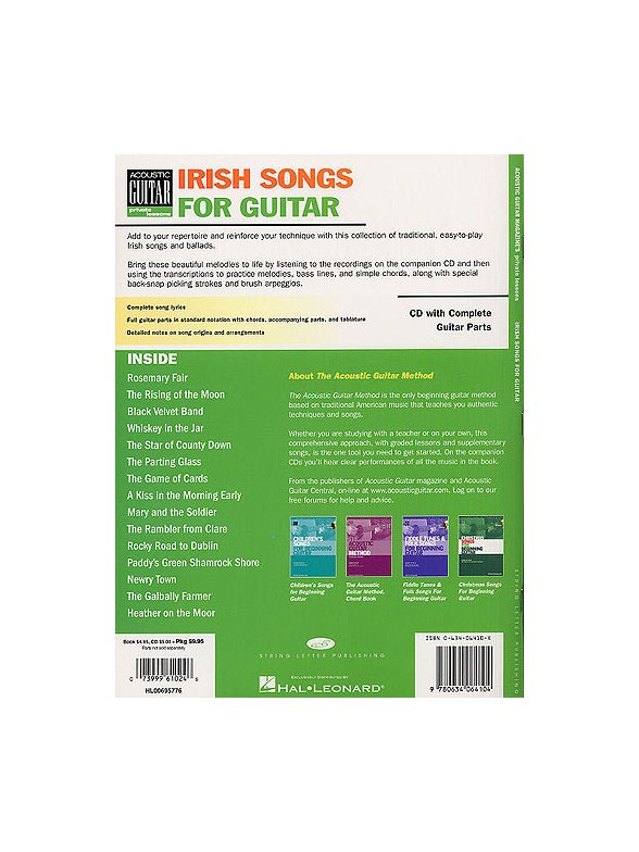 Danny Carnahan: Irish Songs For Guitar - Guitar Tab Books - Tuition ...