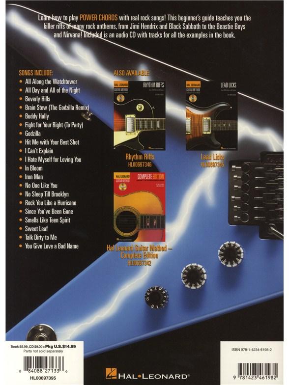 Hal Leonard Guitar Method: Power Chords (Book/CD) - Guitar Books ...