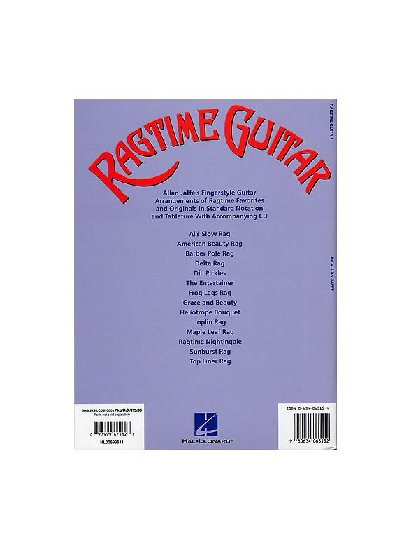 Ragtime Guitar - Guitar Tab Sheet Music - Sheet Music & Songbooks ...