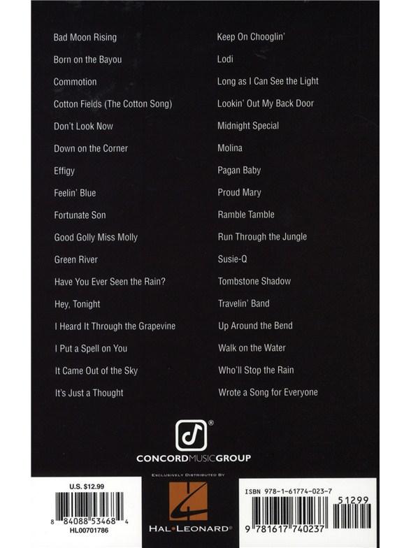 Creedence Clearwater Revival: Guitar Chord Songbook - Lyrics ...