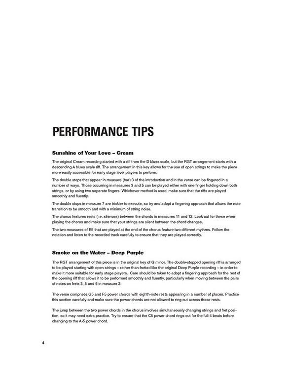 Graded Guitar Songs (Book/Online Audio) - Guitar Sheet Music - Sheet ...
