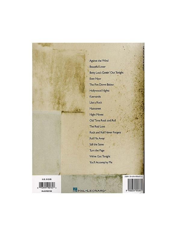 The Best Of Bob Seger - Guitar Tab Sheet Music - Sheet Music ...
