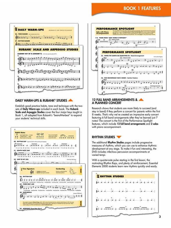 Essential Elements 2000 Trombone Book 1 Book Cd Rom