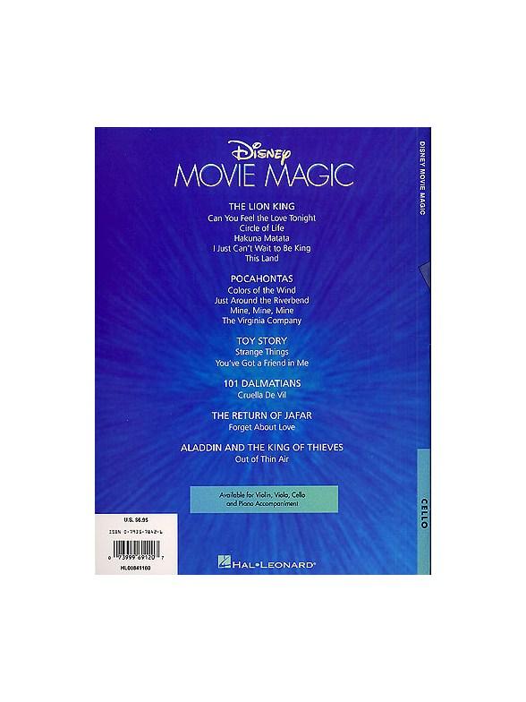 Disney movie magic cello violoncelle partitions for Magic renov tout pret