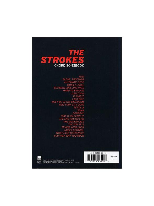 The Strokes Chord Songbook Lyrics Chords Sheet Music Sheet