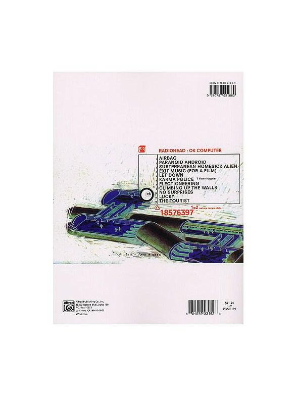 Radiohead Ok Computer Guitar Tab Sheet Music Sheet Music