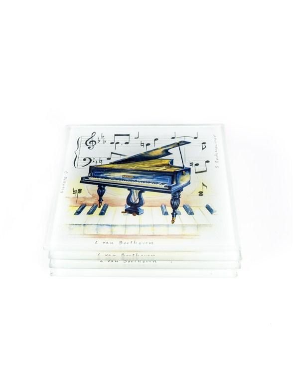 Beatles Glass Coasters