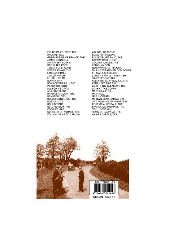 Play Fifty Irish Ballads With Only Six Chords Volume Two Lyrics